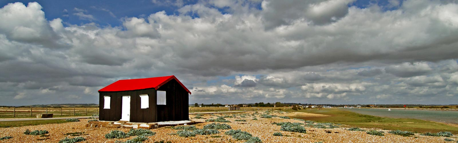 Rye Red Hut by Brian Farey