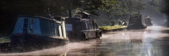 Sleepy Canal by Catherine Jones - Colour Print 2nd