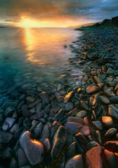 Wester Ross Sunset by Gerry Priest - Projected Image 2nd