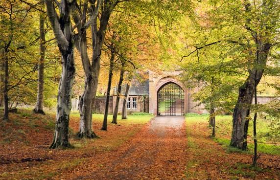 Gatehouse Cortachy Castle by Malcolm McBeath - Colour Print 4th