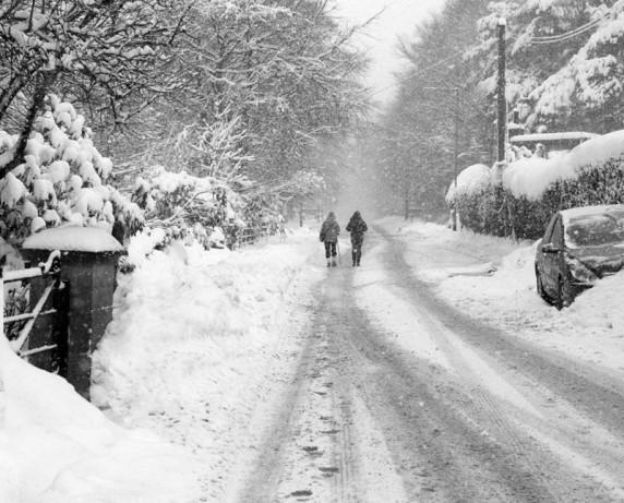 Heading Home by Malcolm McBeath - Mono Print 3rd