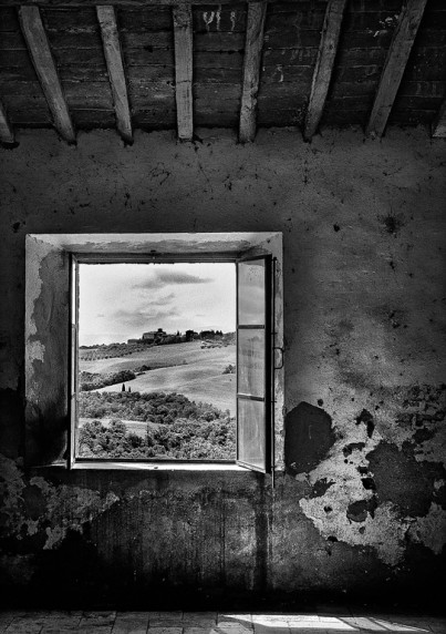 Room with a View by Brian Clark - Mono Print 2nd