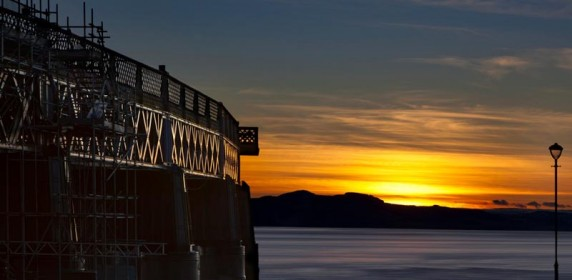 Tay Rail Bridge Sunset 2 by Shahbaz Majeed - Image 3 of 3