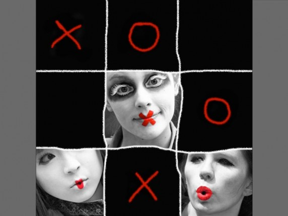 X and O's by Al Buntin - Colour Print 2nd
