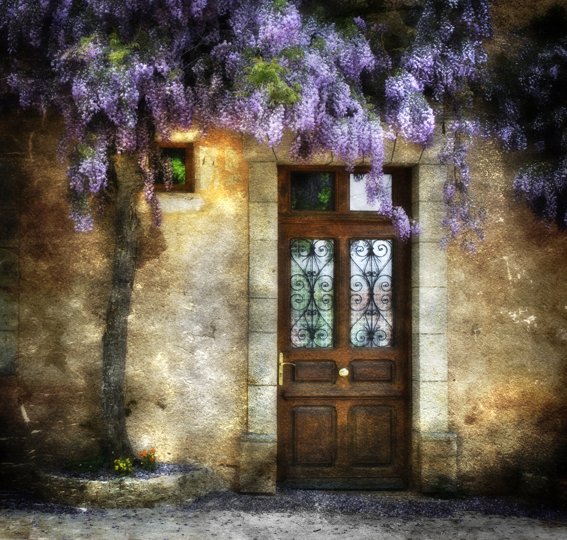 3rd Place: A Door in Provence by Brian Clark