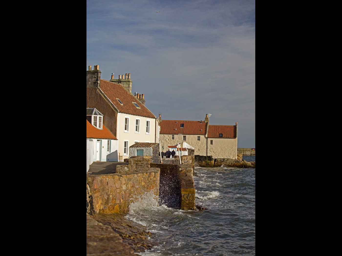 Colour Print - 2nd Place: Pittenweem Sea Front by Iain Wilkie