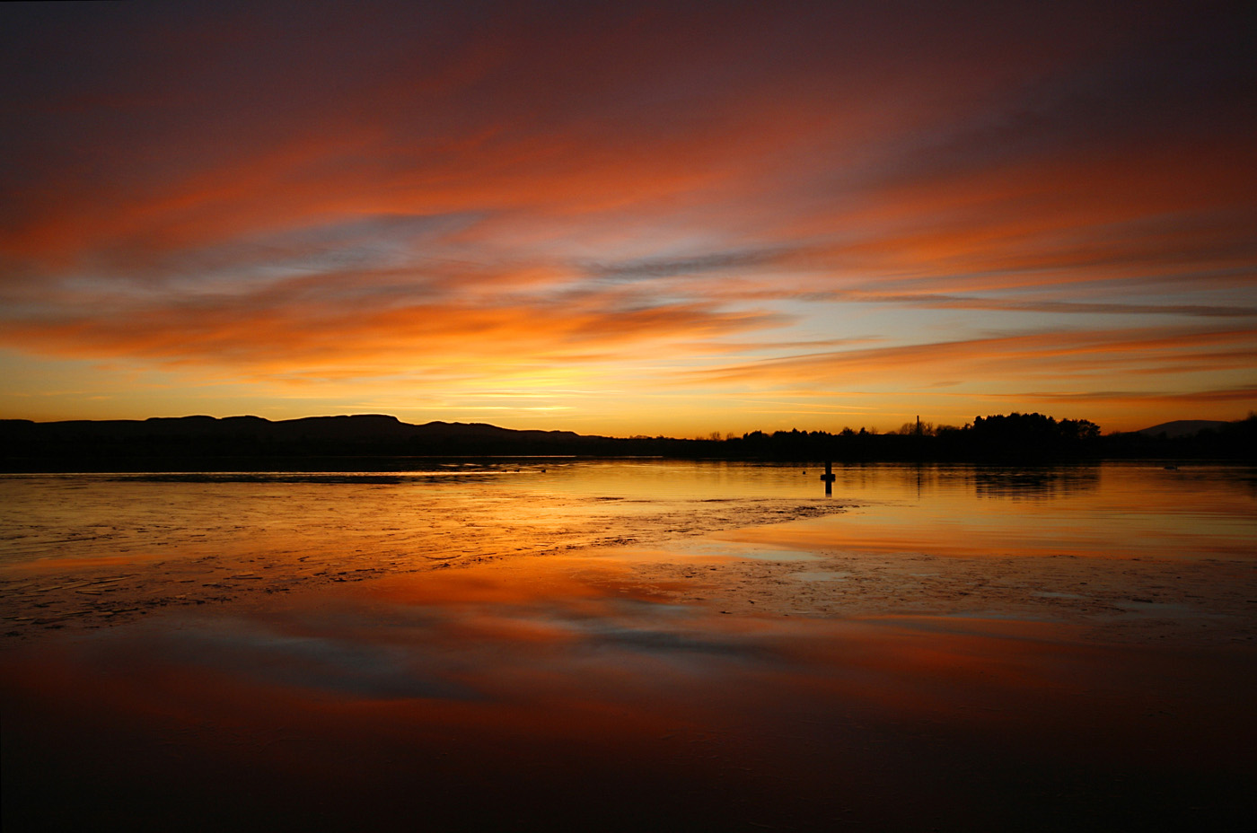 Projected Image - 2nd Place: Loch Leven at Sunset by Liz Kay