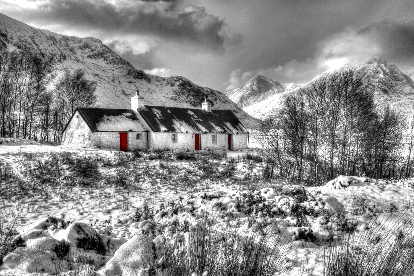 Projected Image - 2nd Place: Black Rock Cottage by Anne Thompson