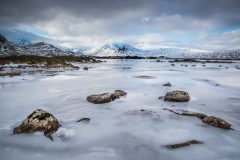 Div 3 Col - 2nd Winter Light on Rannoch  Pat Campbell