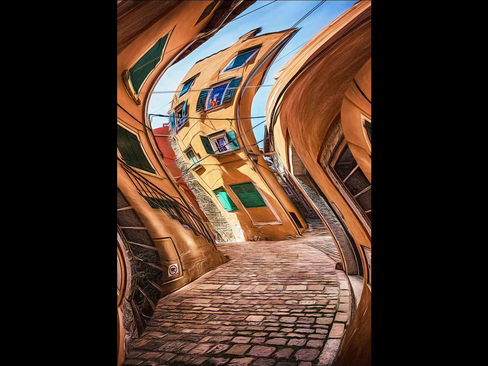 2ND WINDING ALLEY BY COLIN STACEY DIV1 COLOUR
